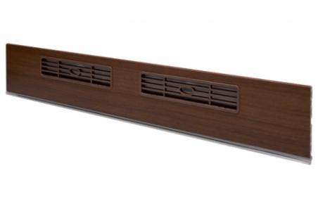 Решетка вентиляционная МАЛАЯ 33х169 мм коричневая