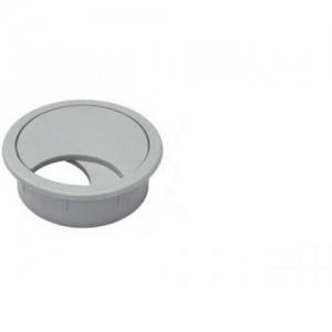 Заглушка для проводки D-60 мм, №13 серая