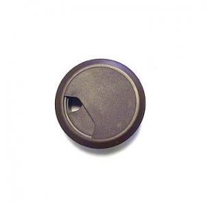 Заглушка для проводки D-60 мм, №8 венге