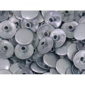 Заглушка пластиковая для конфирмата №14 металлик