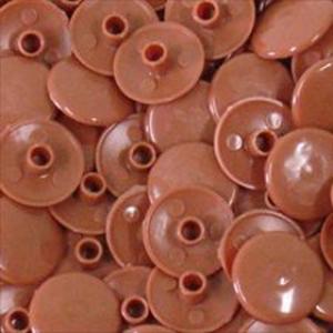 Заглушка пластиковая для конфирмата №3 черешня
