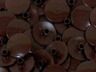 Заглушка пластиковая для конфирмата №8 венге