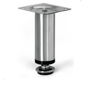 Опора N-106 металл. D-30 мм (Н-150 мм) ХРОМ