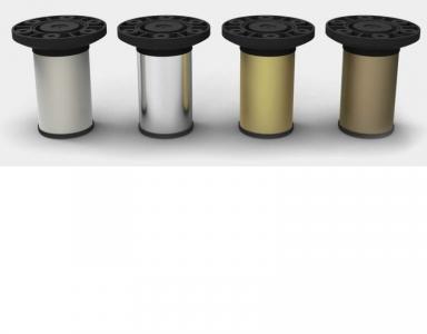 Опора N-115 алюм. D-50 мм Н-100 мм матовый хром