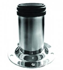 Опора N-131 метал. D-60 мм Н-150 мм хром