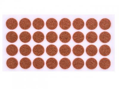 Войлок коричневый D-24 мм