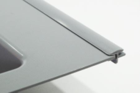 Соединитель для лотков Siderplast L-500 мм, серый