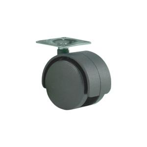 Колесо: K-124 на площадке D-40 без стопора, черное
