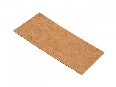 Войлок коричневый 120х240 мм